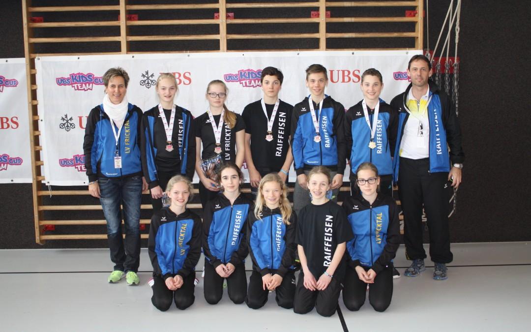 U16 Mixed holen sich BRONZE am Kids-Cup CH-Final! U14-Mädels werden 5.!