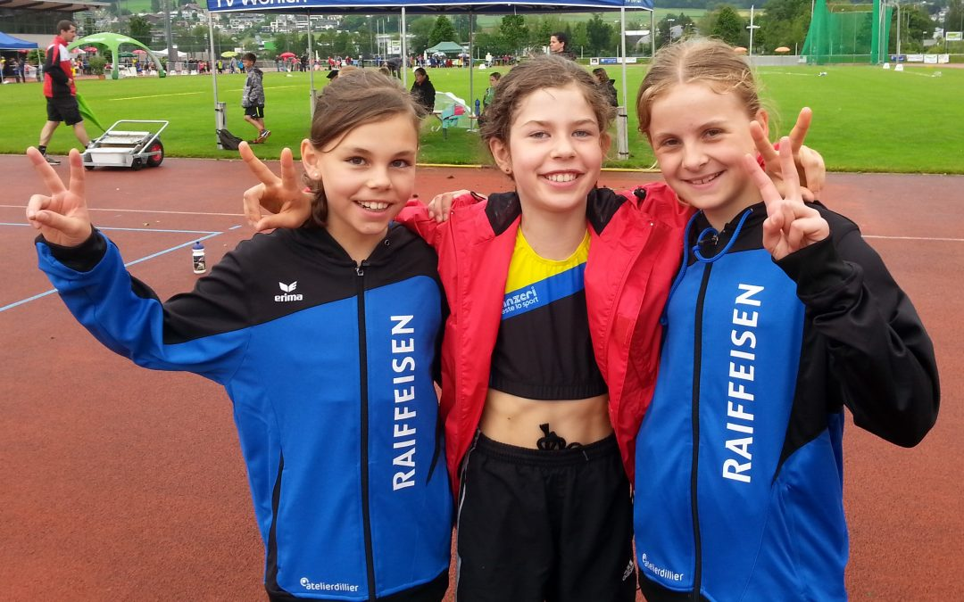 Aarg. Schüler-Meisterschaft: Tolle Ausbeute in Wohlen (6 Aargauer Meister, 6xSilber, 3xBronze)!