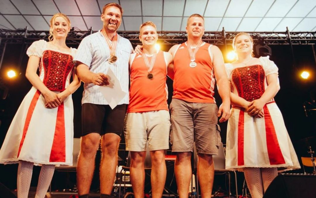 ESAF 2016: SIMON gewinnt vor über 50'000 Zuschauern mit dem Unspunnenstein (83 Kg…) Silber!
