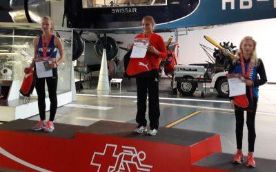 Swissathletics Sprint-Final Luzern: FABIENNE holt sich die Bronzemedaille, Debora & Elia in den Zwischenläufen!