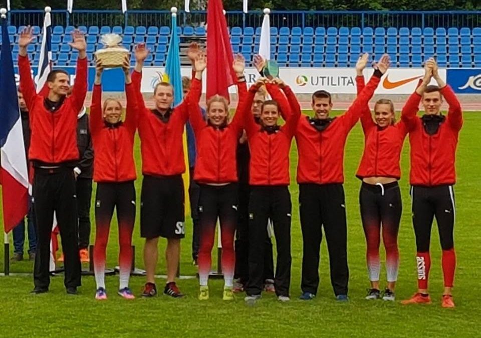 Mehrkampf Länderkampf Aubagne/FR: LENA für die Schweiz im Einsatz, Schlussrang 12
