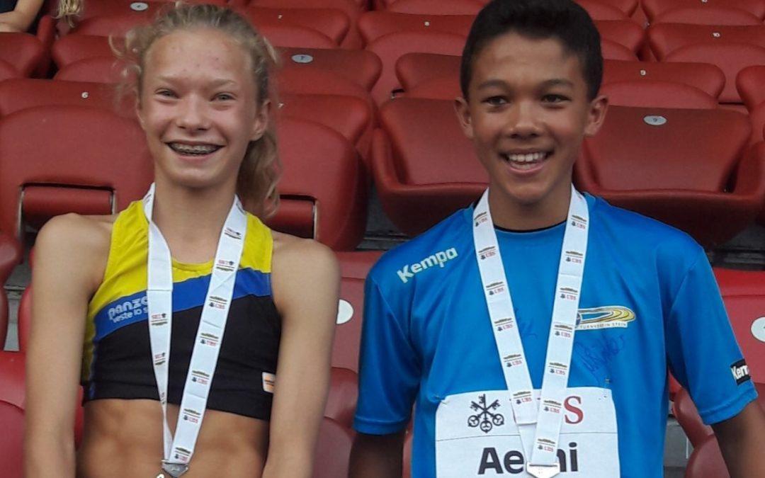 Goodnews aus Weltklasse Zürich: FABIENNE mit Silber im Kidscup! LAURA und LUCIA gute 6. und 7. ANJA 22.