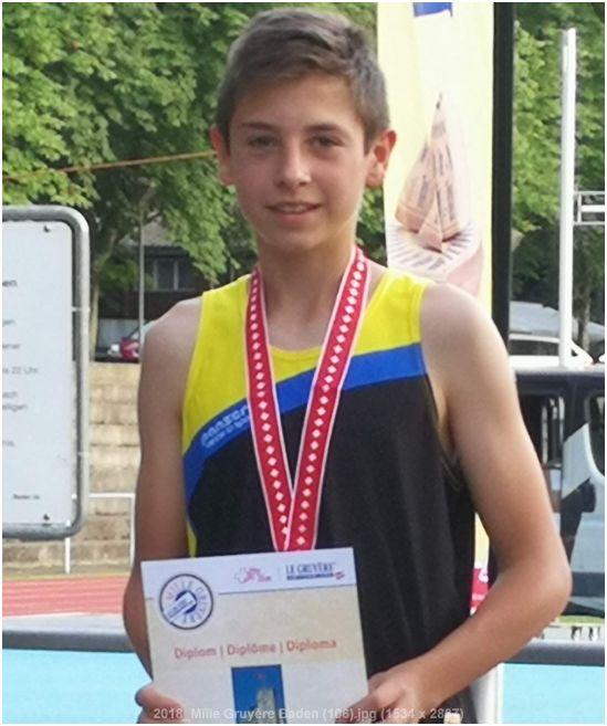 Fabian rennt ans CH-Final des Mille Gruyère!