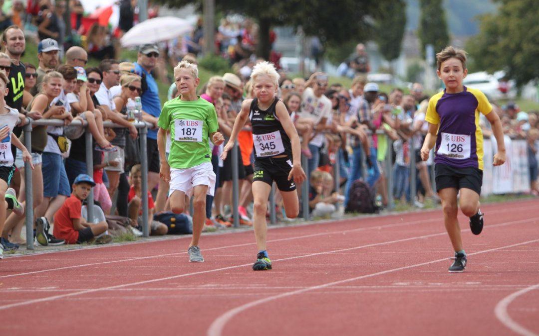 Tolle Leistungen und beste Stimmung am Kantonalfinal UBS Kidscup!