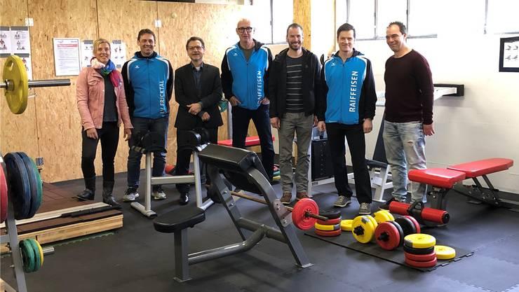 Neuer Kraftraum für Leichtathleten und Schüler