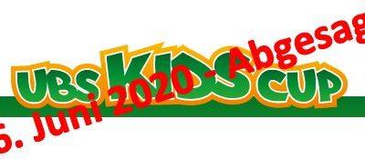UBS Kids Cup vom 6. Juni 2020 – Abgesagt