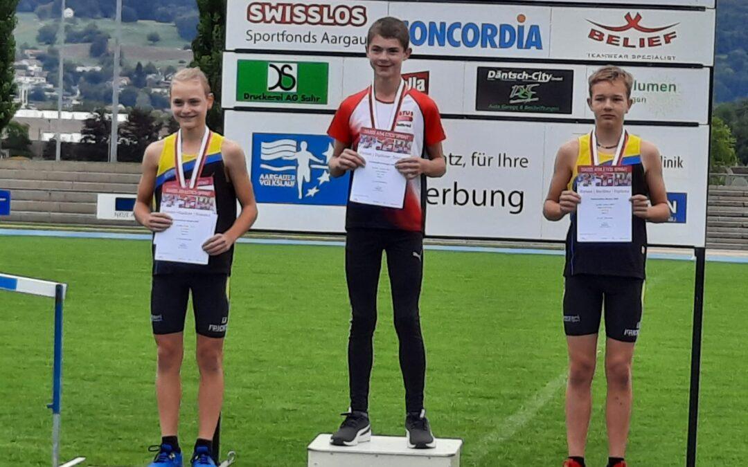 Erfolgreiche Sprinter am kantonalen Swiss Athletic Sprint in Brugg