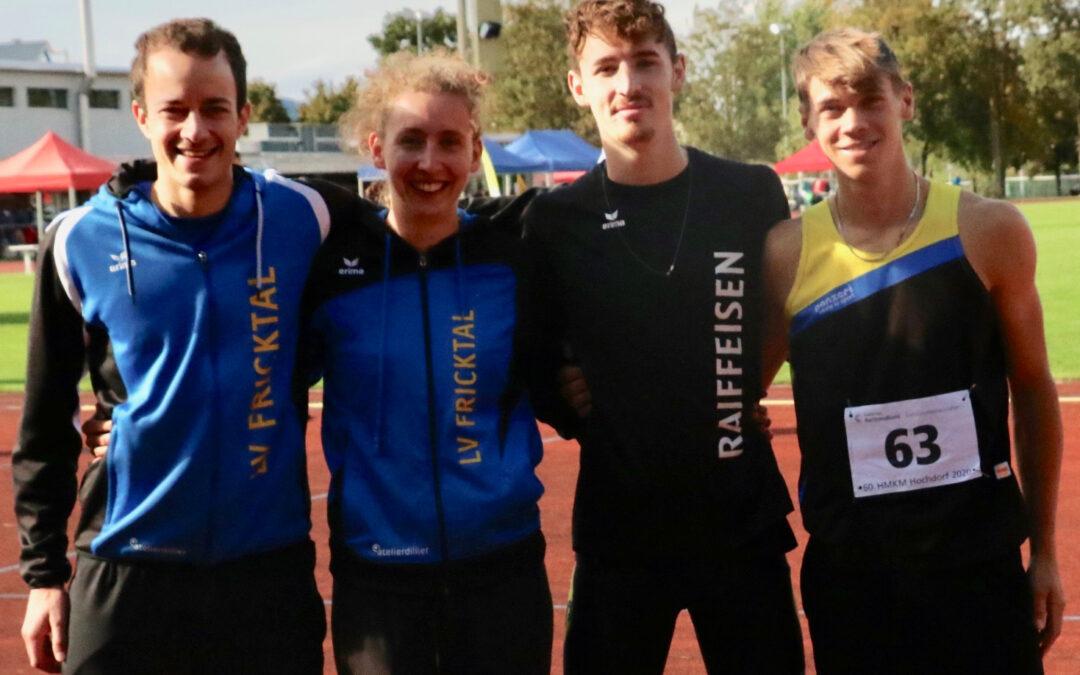 Erfolgreiche MehrkämpferInnen in Hochdorf