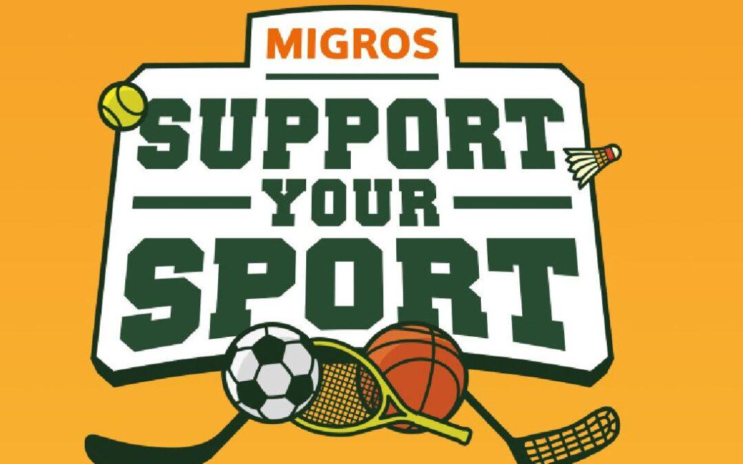 DANKE an alle Supporter der Migros Aktion