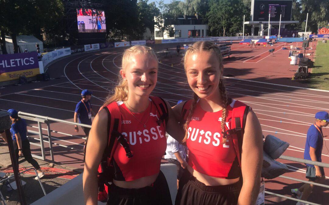 Sensationelle Leistung an U20 EM in Tallinn /Bericht NFZ vom 22. Juli