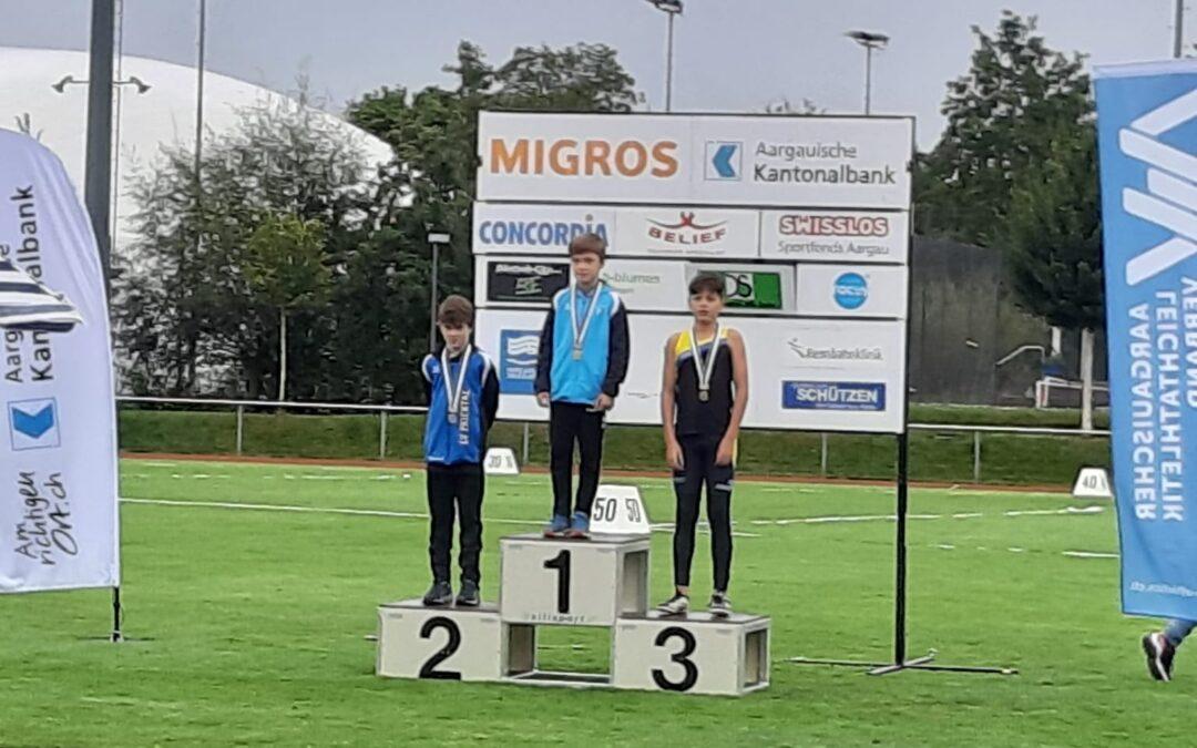 Schülermeeting – 10 Medaillen / Swiss Athletics Sprint – Schweizer Final